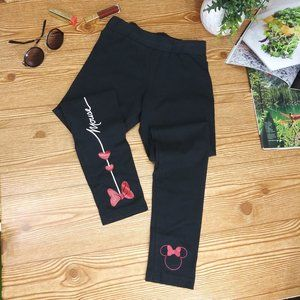 DISNEY PARKS minnie mouse leggings girls size S